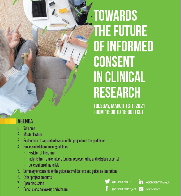 I-consent. Towards the future of informed consent in clinical research